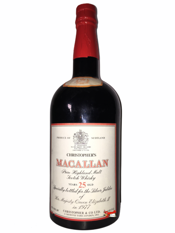 Silver Jubilee of her Majesty Queen Elisabeth II - The Macallan (Magnum)