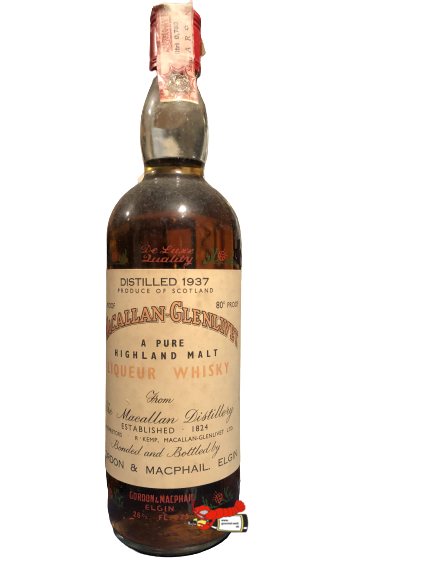 Old Highland Malt Scotch Whisky - Jahrgang 1937, Macallan