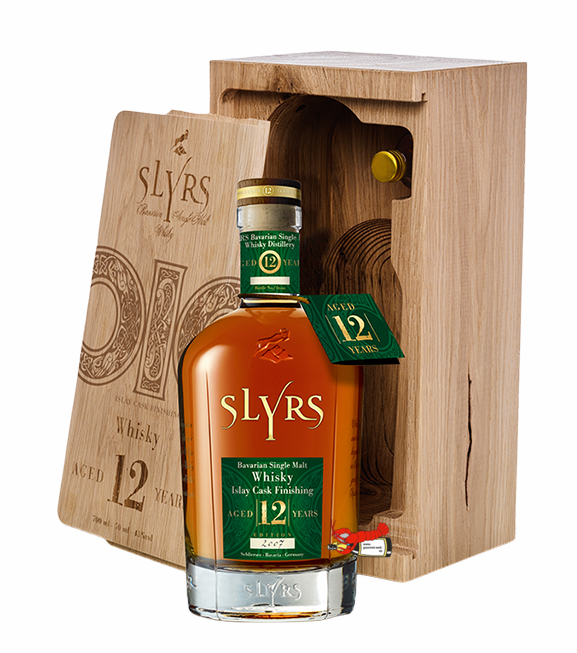 "Single Malt Whisky ""Aged 12 Years""- Islay Cask Finishing - Slyrs"