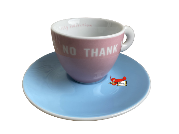 "Espressotasse ""Mr. No Thank You"" Louise Bourgeois - illy-Art-Collection"