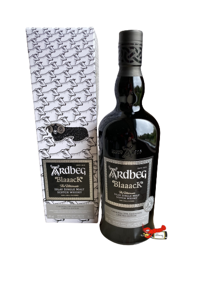 "Islay Single Malt Scotch Whisky ""Blaaack"" - Ardbeg"